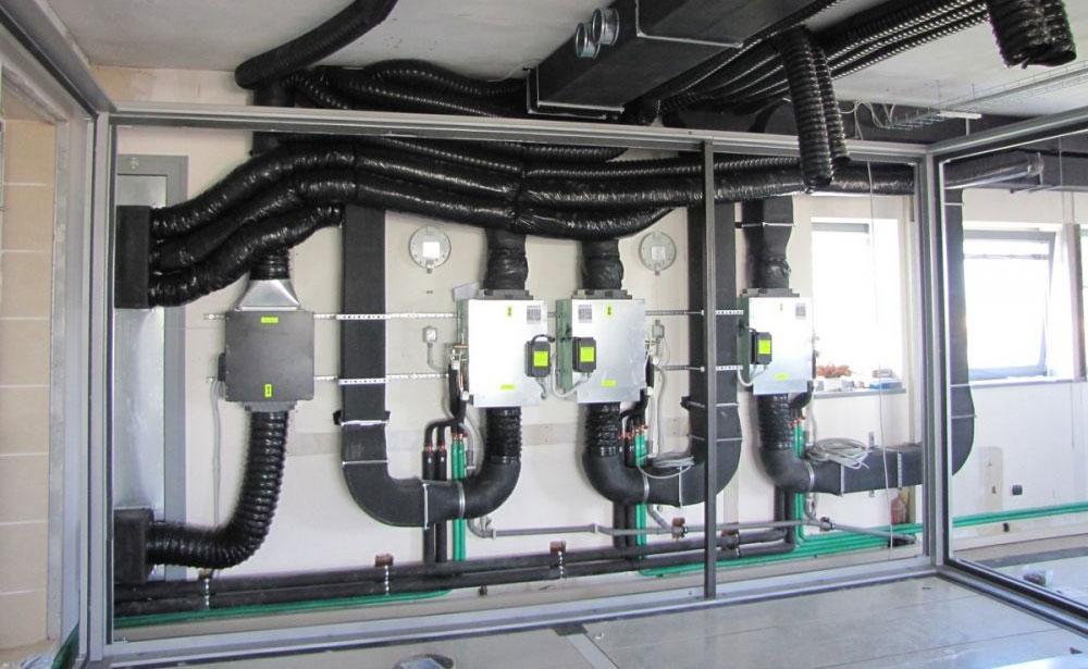 Luftaustauschsystem für akustische Räume - BOXYGEN